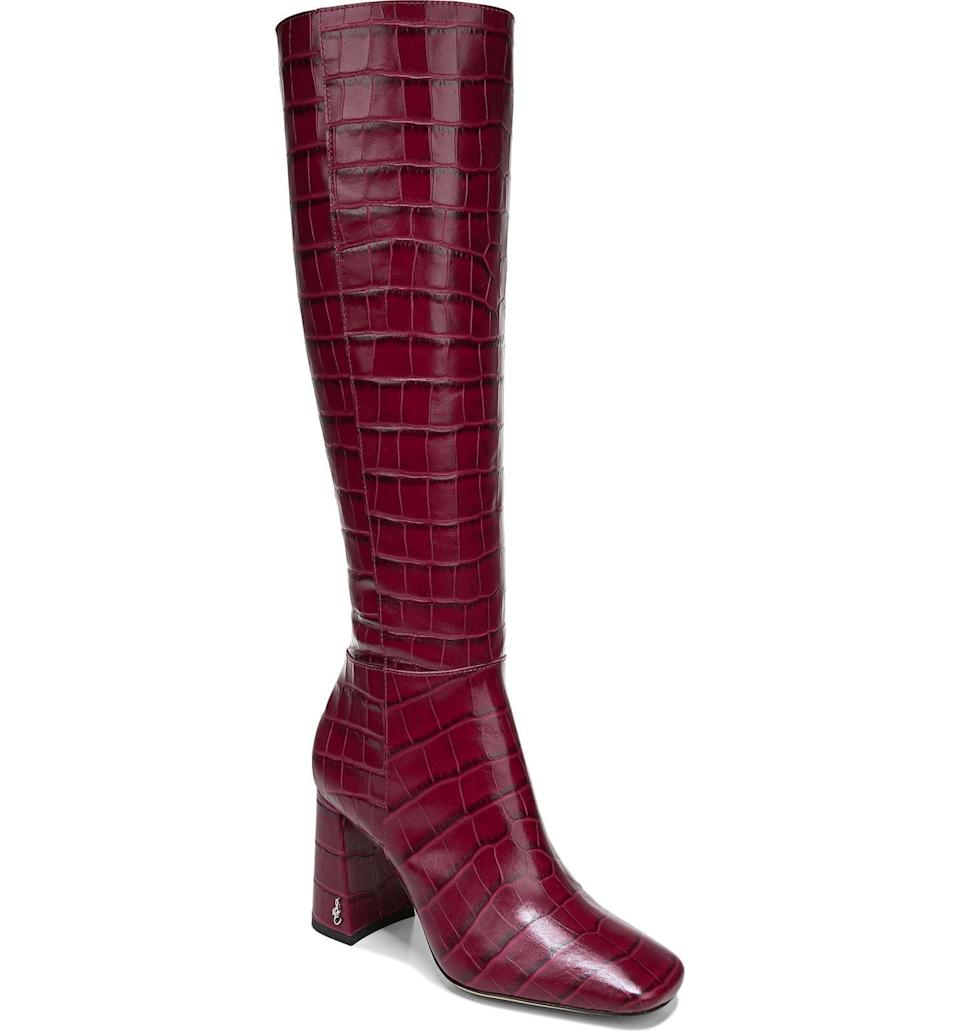 <p>These <span>Sam Edelman Clarem Boots</span> ($200) are so fun. They'll want to wear them with everything.</p>