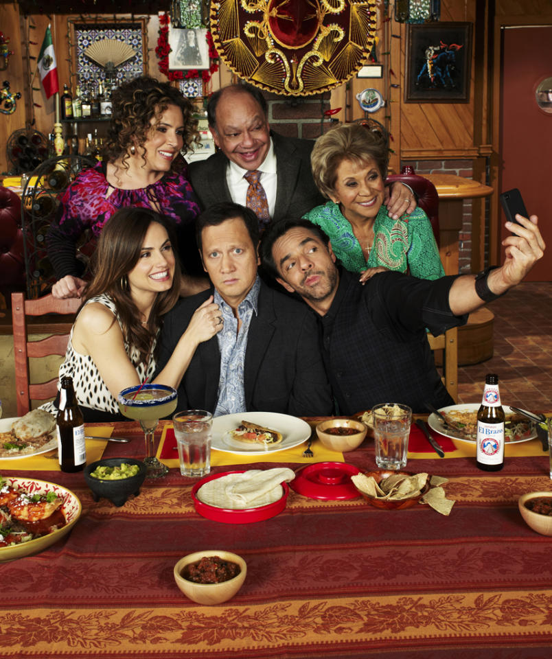 """<b>""""Rob""""</b> (CBS)<br>Wrapped March 1; aired Thursdays at 8:30 PM<br><br><b>The Good News:</b> Averaging 11 million viewers and a 3.3 in the demo, Rob Schneider's culture-clash comedy has performed better than any other show CBS has put behind ratings juggernaut """"The Big Bang Theory.""""<br><br><b>The Bad News:</b> The show was pretty much critically reviled. CBS may want to try to find a better tonal match with """"Big Bang"""" among its new comedy pilots."""