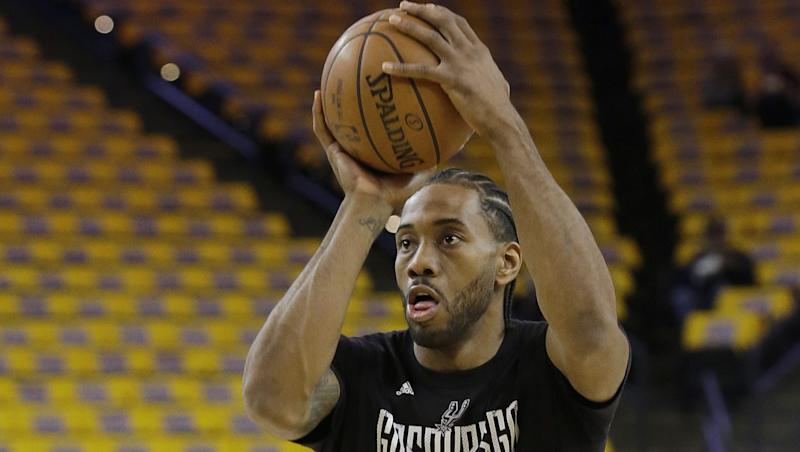 Spurs Will Field Calls for Kawhi Leonard Over Summer