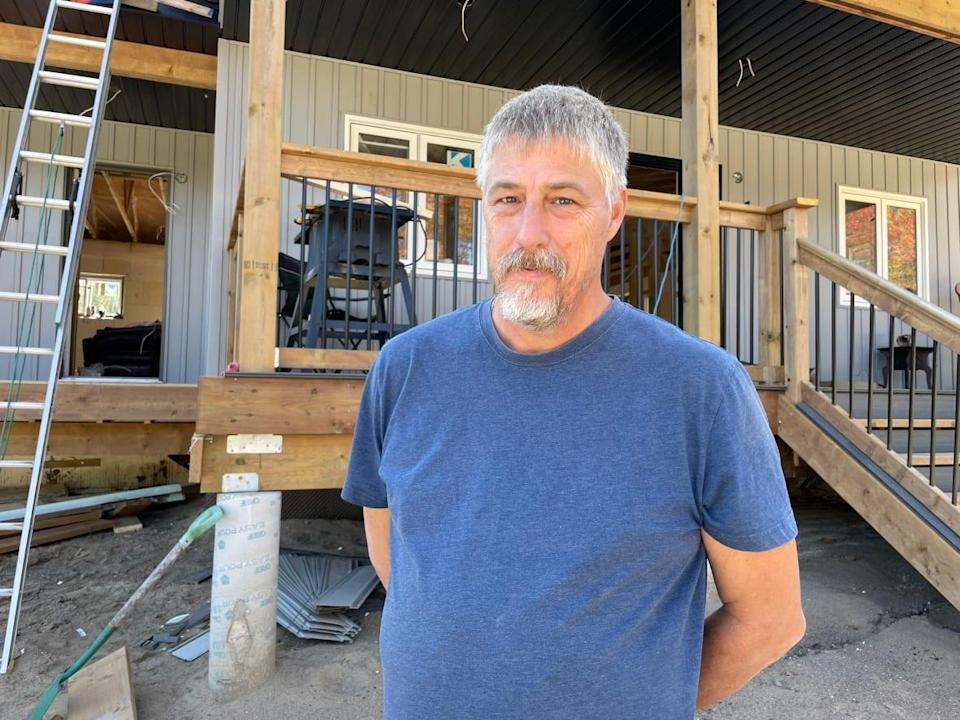 Hydro One wants to charge Allan Robinson $60,000 to connect power to his new home in Minden Hills, Ont. (Sue Goodspeed/CBC - image credit)