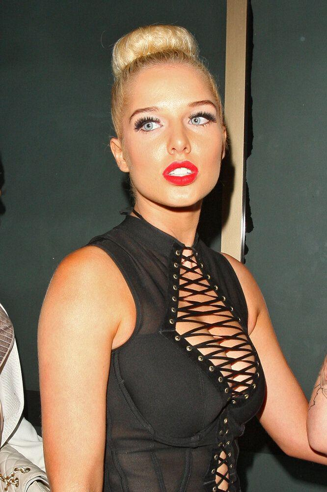Helen Flanagan at an FHM party at London's Whisky Mist