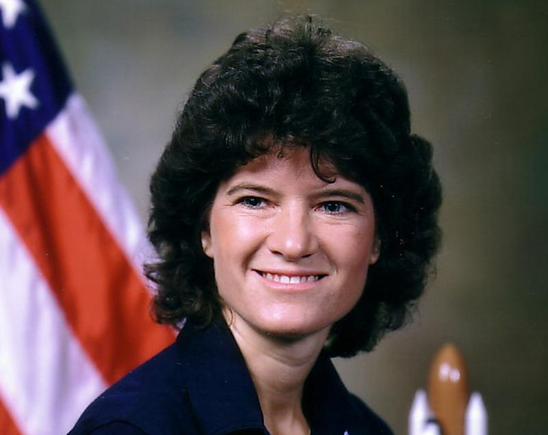 FILE - This undated photo released by NASA shows astronaut Sally Ride. Ride, the first American woman in space, died Monday, July 23, 2012 after a 17-month battle with pancreatic cancer. She was 61.  (AP Photo/NASA, File)