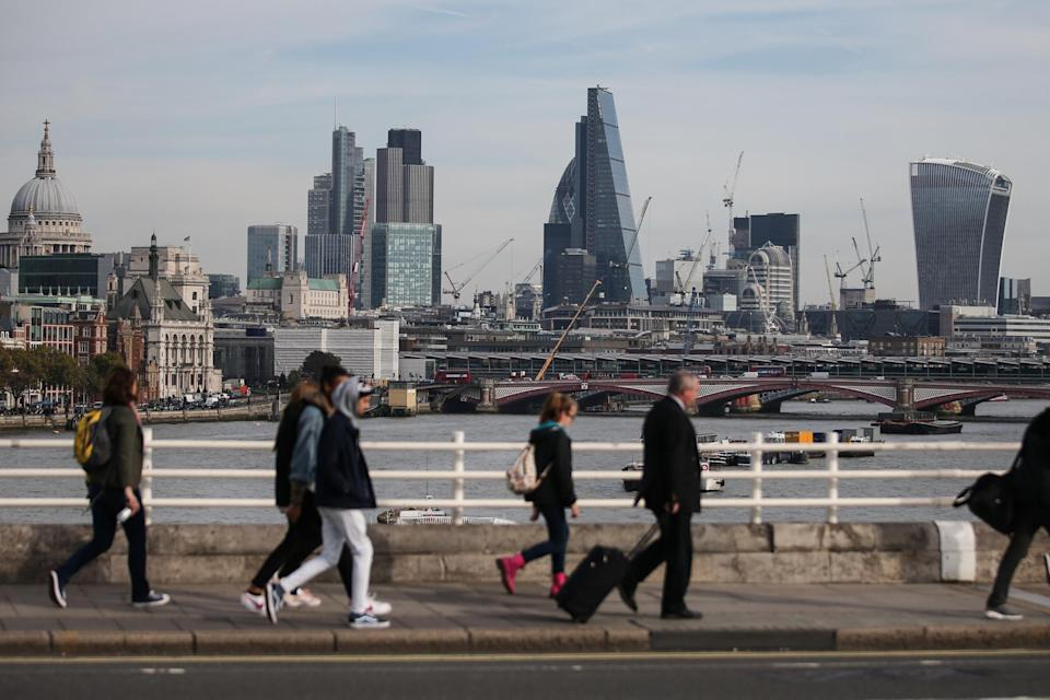 <p>Allowing top City workers in will boost the economy, says Shapps</p> (AFP/Getty Images)
