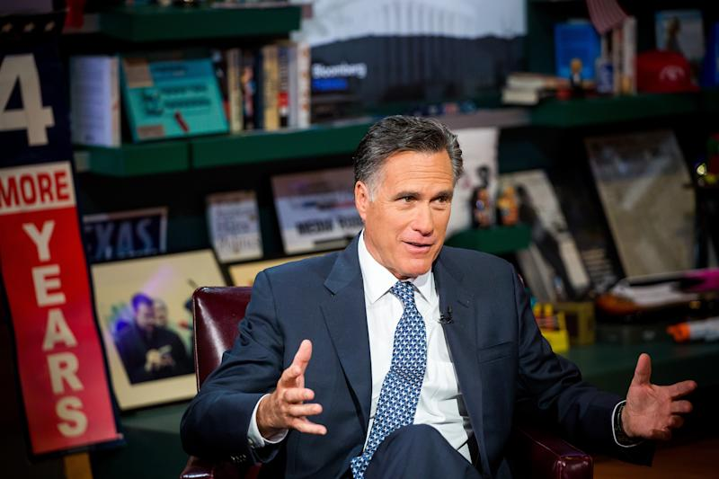 Anti-Trump Forces Hope to Draft Mitt Romney