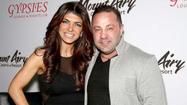 PHOTO: Teresa Giudice, (L) star of 'The Real Housewives of New Jersey,' and Joe Giudice appears at Mount Airy Resort Casino for a book signing, March 5, 2016 in Mount Pocono, Pa. (Paul Zimmerman/Getty Images)