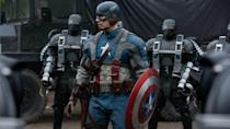 <p> Captain America: The First Avenger is the beginning of everything we love about the heroic Cap – the bedrock on which one of the MCU's major characters is built. Chris Evans is superb as the young skinny kid from Brooklyn who becomes a beefcake overnight thanks to experimental Super Soldier serum and fights the Nazis. Hugo Weaving's Red Skull is one of the MCU's stronger villainous efforts. The more languid period piece also helps repeat viewings, with Evans' Steve Rogers and Hayley Atwell's Peggy Carter beginning their fledgling romance here. Of course, Agent Carter is so unmissable she bagged herself a spin-off TV show and is one of the few MCU love interests who's <em>actually</em> interesting. </p>