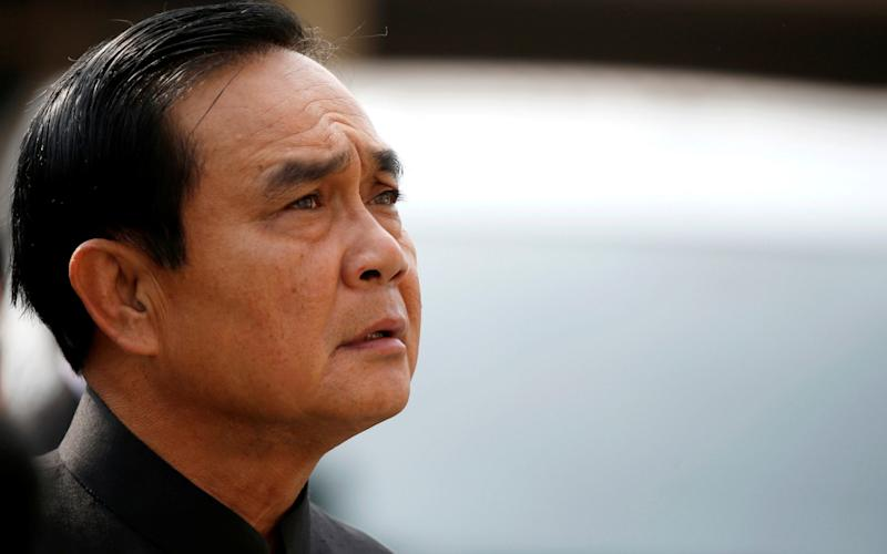 Thai Prime Minister Prayuth Chan-o-cha likes to compose songs - REUTERS