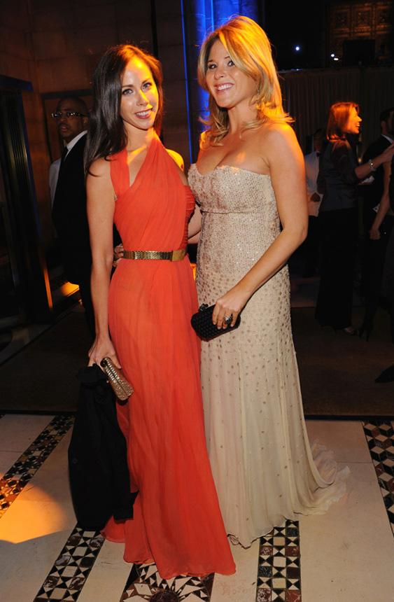 """<div class=""""caption-credit""""> Photo by: Getty Images</div><div class=""""caption-title""""></div>Both Jenna and Barbara have ties to UNICEF. Jenna wrote a book about her experiences as a volunteer with the organization in Latin America, and Barbara interned for UNICEF in Botswana and is member of their Next Generation Steering Committee. Here the sisters are together at the UNICEF Snowflake Ball."""