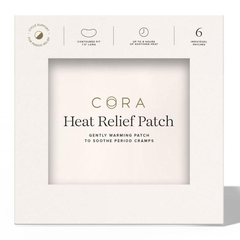 Heat Relief Patches. Image via Cora.