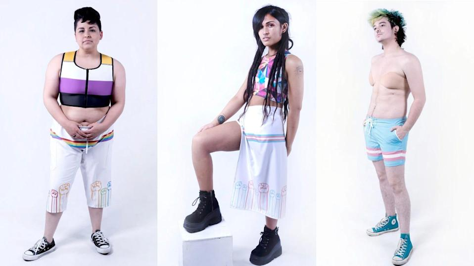 This California-based shop is offering a special collection, which features Pride-inspired shorts, hats, dresses, and more.