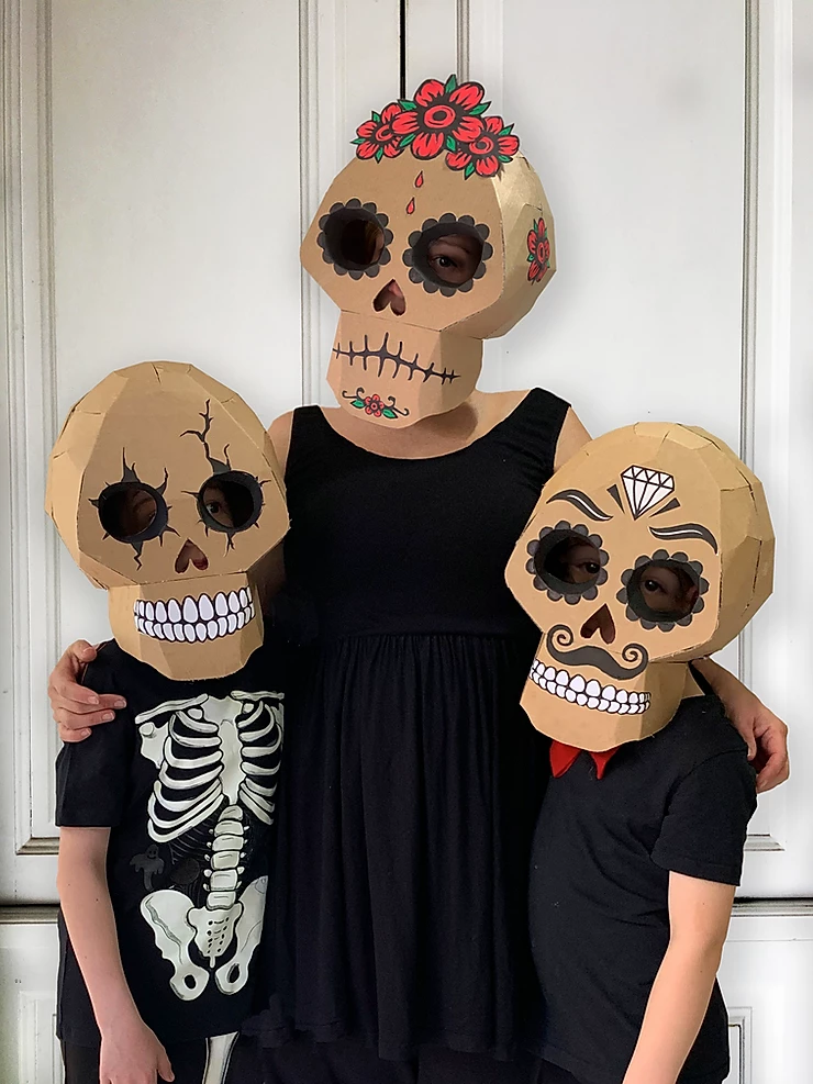 "<p>This stunning project, which comes with a template, can be adjusted to make Halloween skulls with cracked eye sockets, Day of the Dead skulls, or whatever you can dream up!</p><p><strong>Get the tutorial at <a href=""https://www.zygotebrowndesigns.com/post/2019/10/16/diy-cardboard-skull"" rel=""nofollow noopener"" target=""_blank"" data-ylk=""slk:Zygote Brown Designs"" class=""link rapid-noclick-resp"">Zygote Brown Designs</a>.</strong></p><p><a class=""link rapid-noclick-resp"" href=""https://www.amazon.com/corrugated-cardboard-roll/s?k=corrugated+cardboard+roll&tag=syn-yahoo-20&ascsubtag=%5Bartid%7C10050.g.3480%5Bsrc%7Cyahoo-us"" rel=""nofollow noopener"" target=""_blank"" data-ylk=""slk:SHOP SINGLE WALLED CARDBOARD"">SHOP SINGLE WALLED CARDBOARD</a><br></p>"