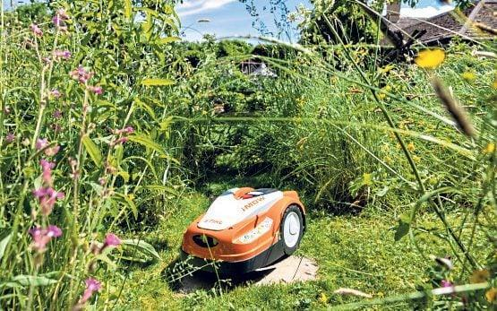 The Stihl 235 has a big advantage being that it is rather like a toy lawnmower - Heathcliff O'Malley