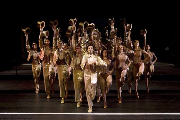 """""""A Chorus Line"""" goes beyond wowing audiences with costumes, sets and stars. (Photo courtesy of Base Entertainment)"""