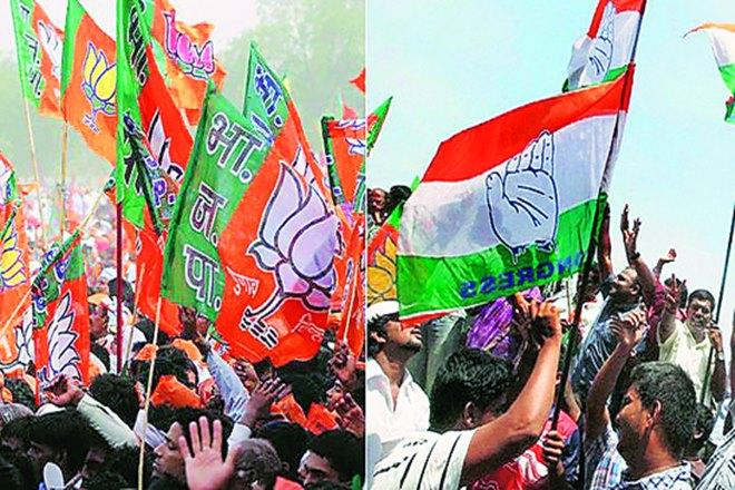 BJP vs Congress: Political advertising reaches fever pitch in high-stake polls