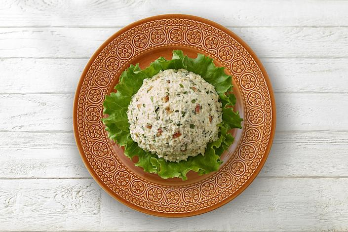 Claibourne Rogers says adding basil and lemon to chicken salad is