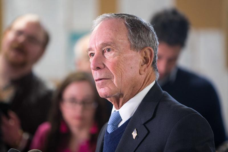 Michael Bloomberg/ Getty