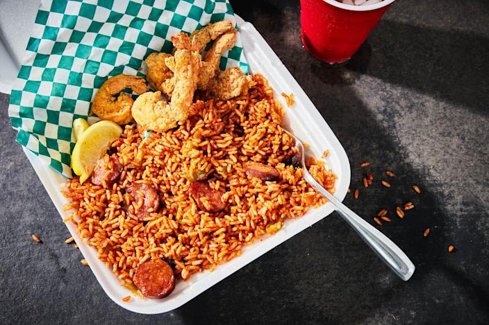 Red Rice from Chanel's Gullah Kitchen