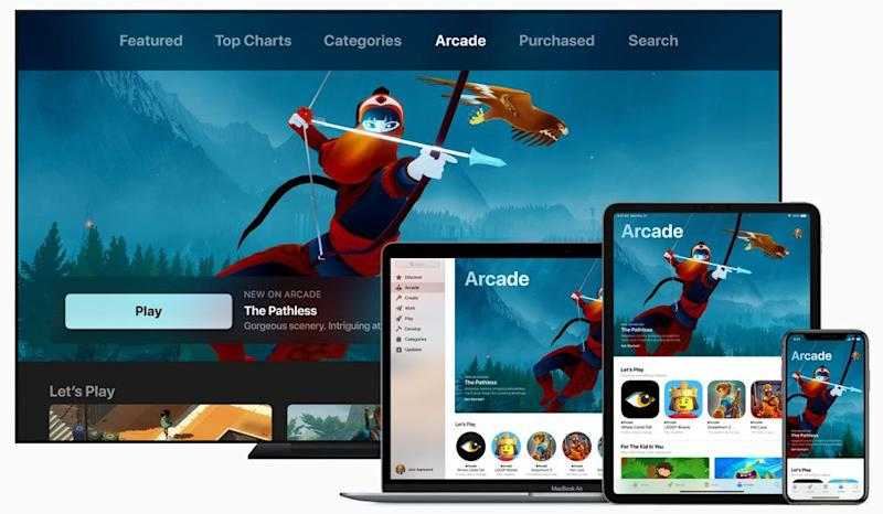 Apple's Arcade service could be a sleeper hit among gamers and parents. But the pricing will be key, and Apple still hasn't let that slip. (Image: Apple)