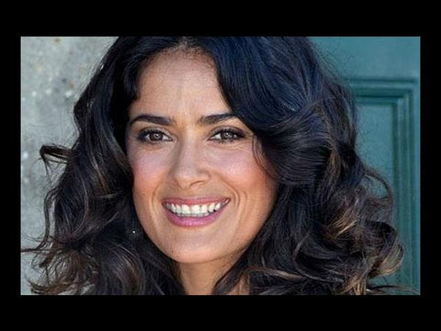 <b>3. Salma Hayek </b><br> She is completely incompetent and incapable...of not looking hot. The mesmeric beauty of a woman at 46, Hayek looks hot on red carpets, she looks hotter on beaches and she can blow your mind even while holding a gun (Remember her portrayal in Frida?). The true epitome of sexiness, she's driven and tough, but coy enough to melt any man's heart.