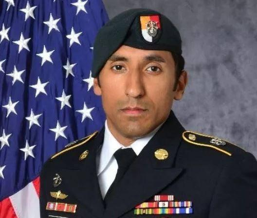 Mr Melgar was a Special Forces Engineer in the US Army Special Forces which is colloquially referred to as the Green Berets because of their distinctive headwear: US Army