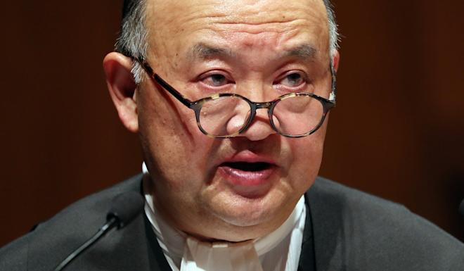 Chief Justice of the Court of Final Appeal Geoffrey Ma says the case seems to have raised 'an important question that ought to be resolved'. Photo: Robert Ng