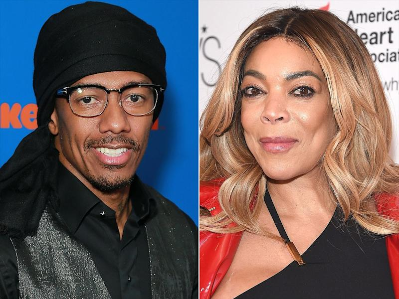 Nick Cannon and Wendy Williams