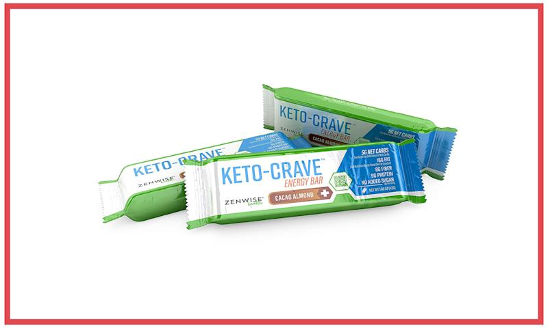 Keto-Crave Energy Bars. (Photo: Courtesy of Keto-Crave)
