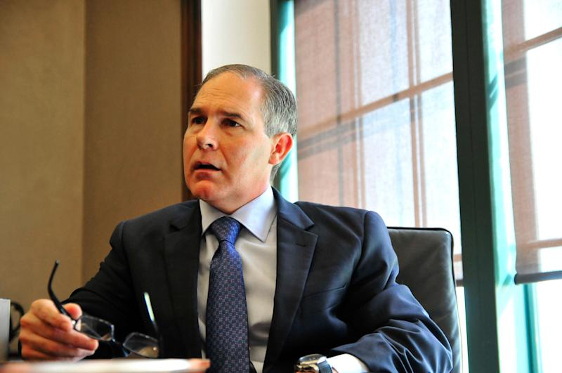 The EPA's top ethics official clarified his defense of agency chief Scott Pruitt on Wednesday.