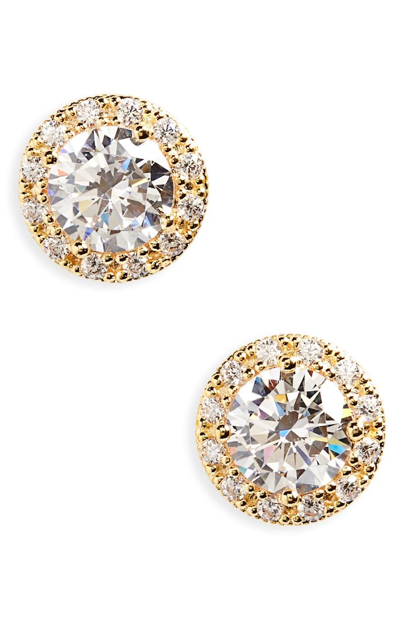These earrings bring the bling (but under $100). (Photo: Nordstrom)