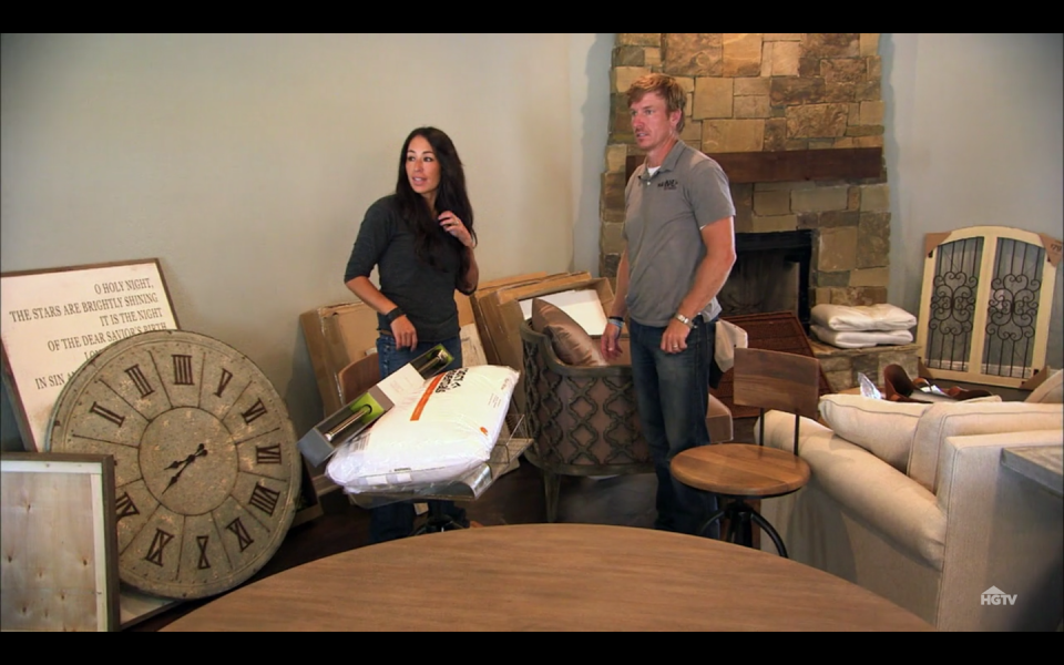 """<p>Chip and Joanna's careers have taken off since the first season and with more fame comes a busier schedule. They've since tasked some responsibilities to design associates, so homeowners aren't often given a <a href=""""https://www.rachelteodoro.com/2017/09/what-its-really-like-to-be-cast-on.html"""" rel=""""nofollow noopener"""" target=""""_blank"""" data-ylk=""""slk:direct line of communication"""" class=""""link rapid-noclick-resp"""">direct line of communication</a> to the hosts.</p>"""