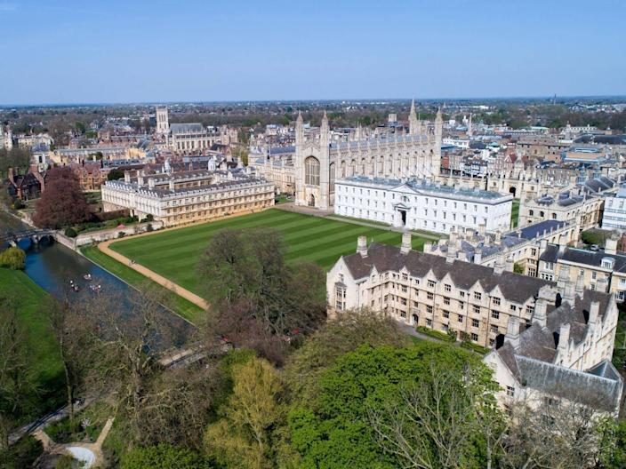 Some Cambridge University colleges have admitted no black students or have accepted as few as one a year between 2012 and 2016 (Rex)