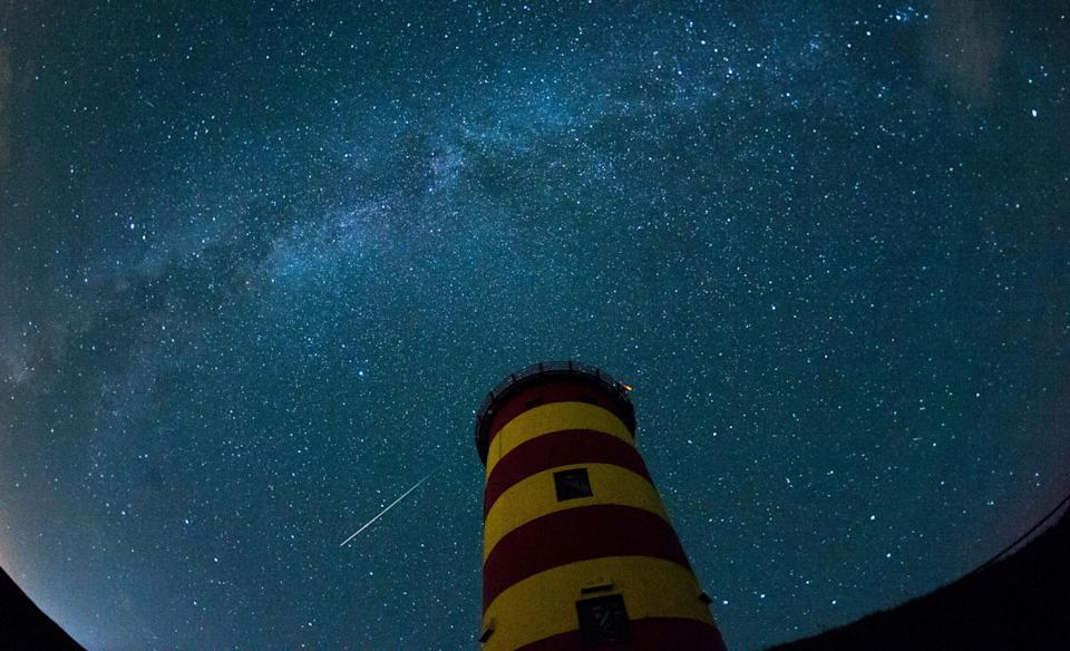 The Eta Aquariid meteor shower will light up the sky in a stunning astronomical display this weekend: Getty