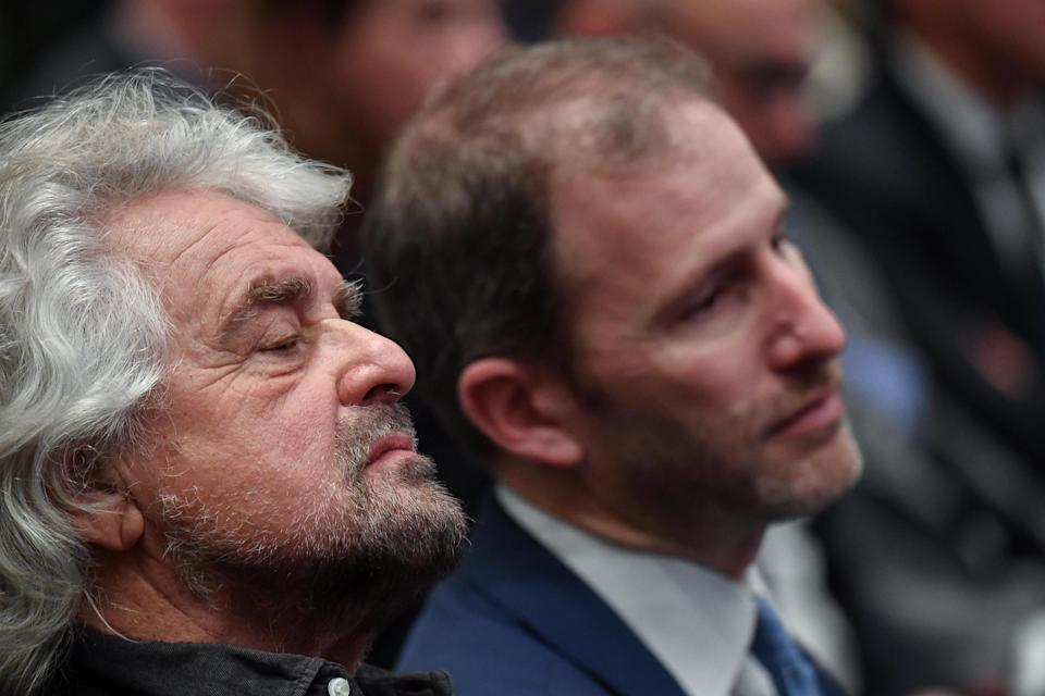 Beppe Grillo e Davide Casaleggio (Photo: Ansa)