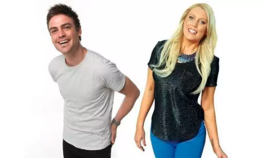 Mel and co-host Michael Christian intended the call as a joke, and could never have guessed at the tragedy that would ensure. Photo: 2Day FM