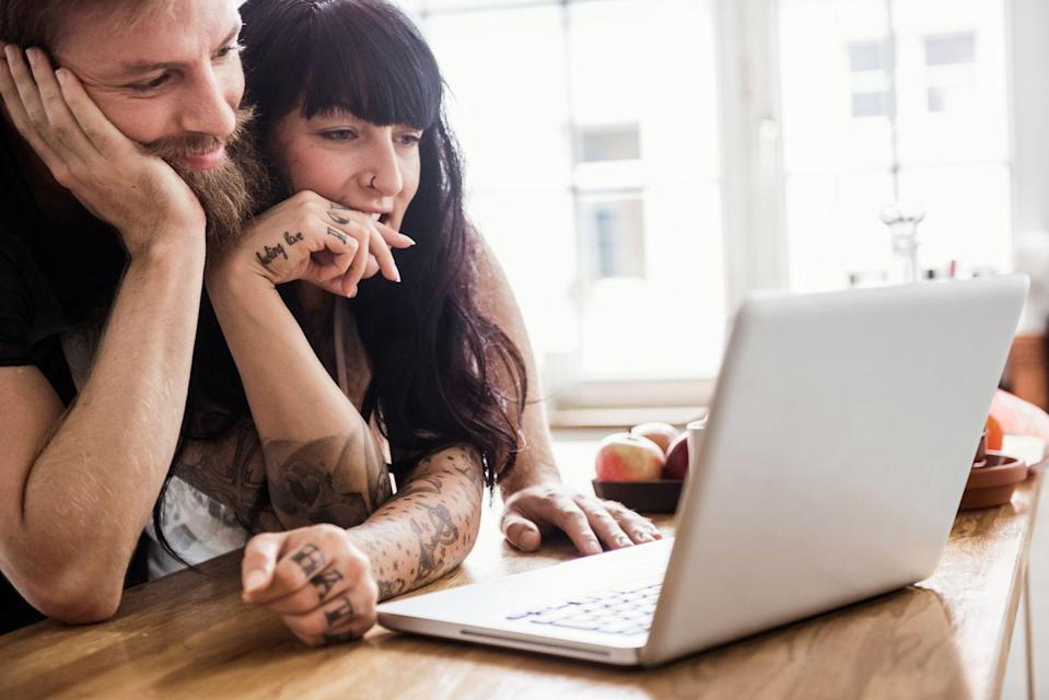 <p>If you're both astrology noobs, go online and discover your birth chart for free—then spend the rest of the evening figuring out WTF it means for your compatibility. (If the news isn't good, take it with a grain of salt.)</p>