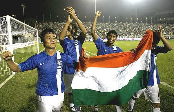 Is Indian football on the way up?