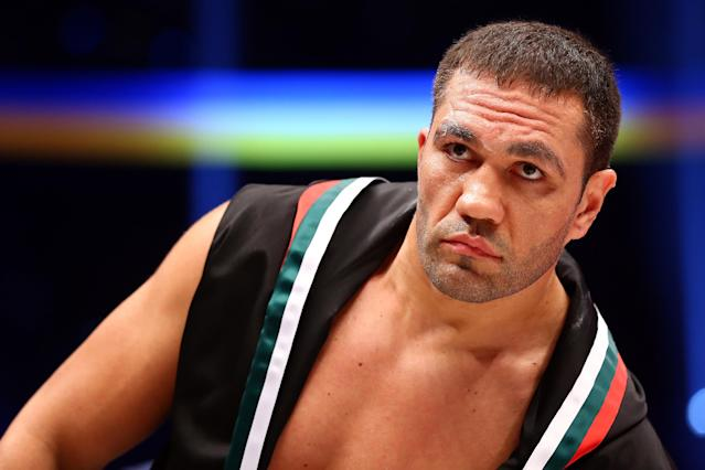 Kubrat Pulev of Bulgaria is able to apply for reinstatement after taking sexual harassment training. (Getty Images)