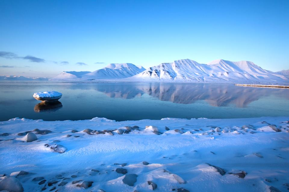 <p>The first BBC adaptation of Philip Pullman's much-loved fantasy trilogy His Dark Materials is set to be broadcast in 2019, starring James McAvoy as Lord Asriel. Although filming will be done in the UK — including Oxford — the focus will be on Scandinavian destinations where the Northern Lights occur. Halfway between Norway and the North Pole, Svalbard is a distant archipelago of snowy peaks and untouched glaciers that's home to more polar bears than people. <em>[Photo: Getty]</em> </p>