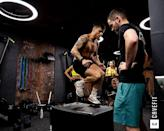 """<p>Held in an old bank vault, <a href=""""http://cave-fit.com/"""" rel=""""nofollow noopener"""" target=""""_blank"""" data-ylk=""""slk:CaveFit's"""" class=""""link rapid-noclick-resp"""">CaveFit's </a>HIIT strength class matches the thumping bass and pumping heart rate of any London boutique class.</p><p><a href=""""https://www.instagram.com/p/B5AK0qmgWX3/?utm_source=ig_embed&utm_campaign=loading"""" rel=""""nofollow noopener"""" target=""""_blank"""" data-ylk=""""slk:See the original post on Instagram"""" class=""""link rapid-noclick-resp"""">See the original post on Instagram</a></p>"""