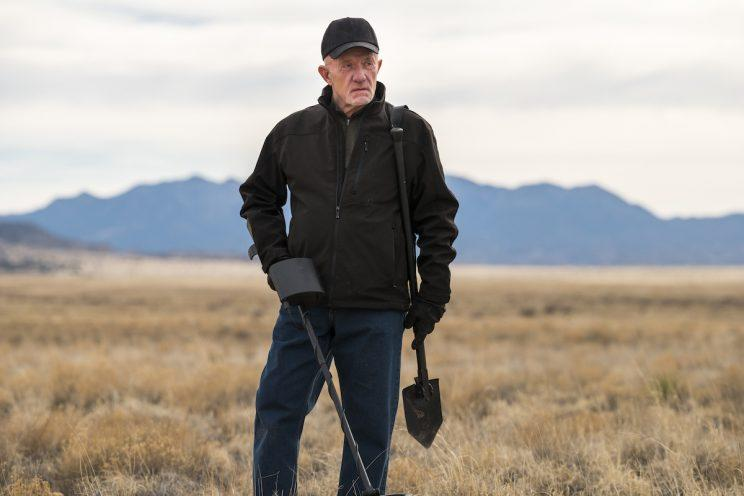 Jonathan Banks as Mike Ehrmantraut in AMC's Better Call Saul. (Credit: Michele K. Short/AMC/Sony Pictures Television)