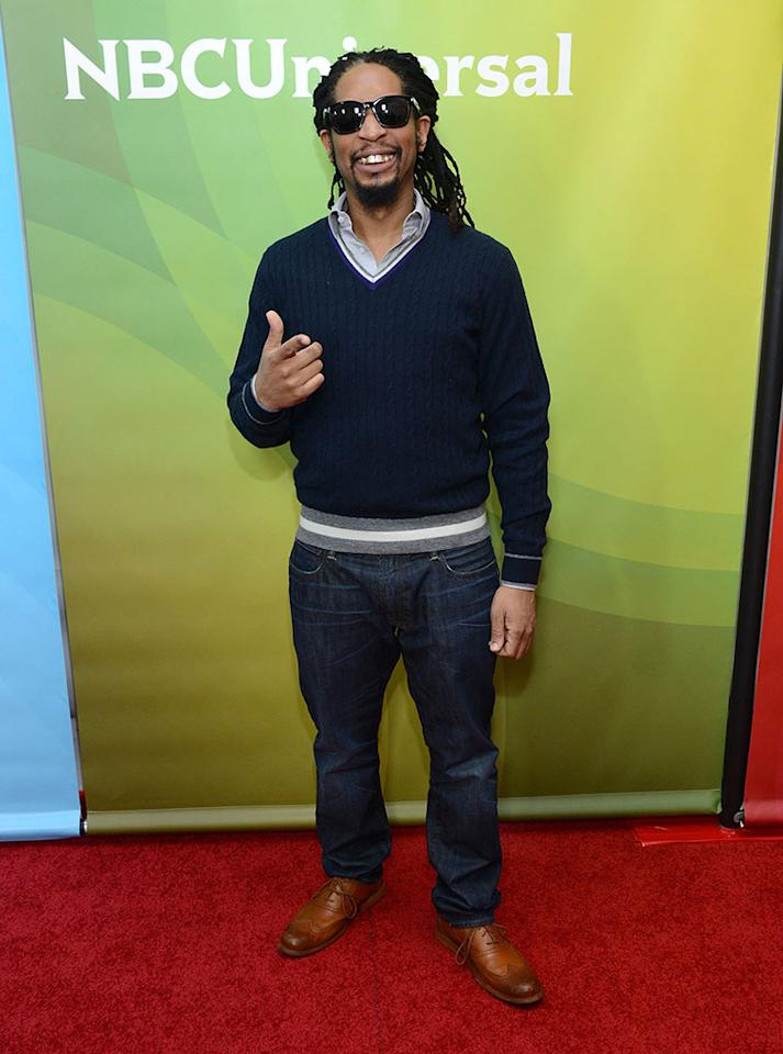 """Lil John attends NBCUniversal's """"2013 Winter TCA Tour"""" Day 1 at Langham Hotel on January 6, 2013 in Pasadena, California."""
