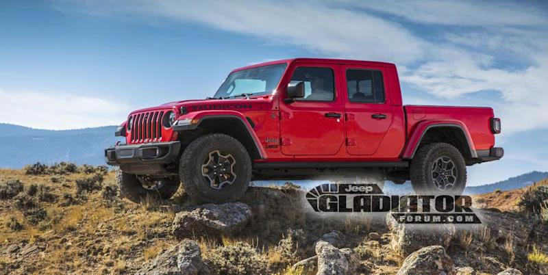 the jeep wrangler pickup truck is almost here, reportedly calledphoto credit jeepgladiatorforum com car and driver