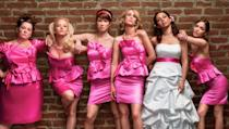 <p> Romantic comedies are a staple in any list of date movies, and Paul Feig's Bridesmaids is like the final Pokémon evolution of the form. On first appearance, this is a fairly typical chick flick, but for the most part is a witty subversion of the trappings of that sub-genre. With an immensely likeable cast including Kirsten Wiig, Maya Rudolph and Rose Byrne skewering perceptions and coming out with an end result with across-the-board appeal. </p>