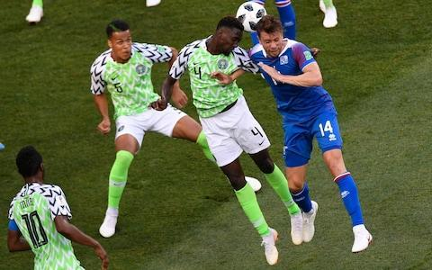 "Just when it seemed that Iceland were crafting another masterclass in defensive suffocation, despite a Volgograd evening hot enough to remind them of their geothermal springs, Nigeria's Ahmed Musa struck twice to derail the dream. At a stroke, the complexion of Group D was transformed, while the Icelandic fans' much-loved thunderclap chant rang out, by the end, with barely a fraction of its customary Viking menace. The repercussions were felt far beyond the confines of this stunning stadium, nestled in the shadow of The Motherland Calls, Russia's colossal monument to the Battle of Stalingrad. Argentina, such strange underachievers at this World Cup so far, were gifted an unexpected last chance to qualify, while Croatia could be all but assured of starting the next round as winners. For Iceland, alas, described by their own captain Aron Gunnarsson as ""everybody's second favourite team"", the chance of a last-16 place became slender at best. Nigeria, inspired by the irrepressible Ahmed Musa, exploited their second-half lethargy with gusto. It was a revelatory performance by Musa, who claimed a distinction here as Leicester City's first World Cup goalscorer. The turning point came at half-time, when Nigeria's players gathered in a huddle on the pitch, while their opponents ran back indoors to cool down. The effect was instant, with Musa exemplifying a new-found purpose and hunger. First he caught Ragnar Sigurdsson dithering, seizing on Victor Moses' pass to launch a strike beyond Hannes Halldorsson's reach. For his second, he bolted down the left, turned sharply to befuddle Kari Arnason, and lashed a shot high into the open net. Musa took the ball around goalkeeper Halldorsson before scoring his second Credit: Reuters Two years on from the day that Iceland sealed their improbable advance to the knockout phase of Euro 2016, they wobbled in the face of Nigeria's energy and endeavour. For all that Nigeria had been numbingly bereft of creativity in their opening match against Croatia, they had lost only through an own goal and a penalty, and last night they recaptured their verve in open play. Moses was switched to his favoured position on the right, where he has usually played for Chelsea, while John Obi Mikel, now chasing one final payday in China, relished his marshalling duties in the centre of midfield. ""In the second half it was a different team,"" Gernot Rohr, Nigeria's German coach, acknowledged. ""We realised that we needed to do much more. They key was to make more counter-attacks."" The vast travelling band from the North Atlantic had dared to expect more. Astonishingly, almost 10 per cent of Iceland's entire population of 334,000 was crammed inside the Volgograd Arena, with the supporters in royal blue exhorting their team with unrelenting noise. They formed quite a spectacle, touring the sights of Mamayev Kurgan, the city's memorial complex, and offered some extraordinary accounts of their journeys. Two friends from Reykjavik had travelled all the way to southwest Russia in a battered Lada. ""You know the Vikings were great explorers, sailors and fighters,"" Gretar Jonsson, a film student, explained. ""So, we have a little bit of their desire to have an adventure."" In football, the Icelanders know all about what it means to be intrepid. They eclipsed every expectation two summers ago by beating England, before reaching a first World Cup atop a qualifying group that included Croatia, whom they must beat on Tuesday if they are to have any hope of extending their stay. Their coach, Heimir Hallgrimsson, who famously moonlights as a dentist, was not about to sound too pessimistic at the prospect. Sigurdsson blazes over from the penalty spot Credit: Getty images ""It was just not our day, in so many ways,"" he reflected after this defeat. ""But we didn't think we would go through this World Cup without a loss. Now, we only need to beat Croatia, and while that is easier said than done, we have beaten them once before in Iceland, and we finished ahead of them in our group. We have played each other four times in four years. We always say that we are like a married couple ‒ we try to break up but we always get back together again."" Hallgrimsson expects a bruising battle against the Croatians, likely to rest a couple of their stars, since Iceland have picked up a red card in three of the past four contests. One accusation that can never be levelled at his side is a lack of appetite for the fight. Although visibly wilting in these temperatures, they never stopped pressing forward even when 2-0 down, earning a late penalty thanks to a VAR replay that resolved a foul by Tyronne Ebuehi on Alfred Finnbogason in the area. But Everton's Gylfi Sigurdsson could not grasp the moment, with his spot-kick sailing high into the stands. While crestfallen, Iceland's loyal disciples did not despair, sustaining their signature chant long into the night. There was, they recognised, still a mathematical chance of a reprieve. That was a truth not lost on Argentinian fans, either, however much Nigeria plan to spoil the party. Who will join Luka Modric in the second round: Musa, Messi or, just possibly, Hordur Magnusson? It promises to be a thrill finding out. 6:39PM What next These two teams don't play again until Tuesday, when Iceland face likely group winners Croatia and Nigeria play Argentina. The games happen simultaneously so that nobody has an advantage in knowing the other result before they play. It's all to play for. 6:13PM Something happens to Iceland at half time... First half shots: 13 Second half shots: 4 First half shots conceded: 11 Second half shots conceded: 32 6:01PM A game of two halves All 16 of Nigeria's shots came in the second half. What a team talk it must have been. Nigeria vs Iceland shots on goal 5:56PM Full time - Nigeria 2 Iceland 0 That's it. What a result for Nigeria and Group D has been blown wide open. With a game to go, this is how it looks: That means Croatia have basically won the group. Nigeria, Iceland and lucky, lucky Argentina can all still make the next round. 5:54PM 90 mins +4 - Nigeria 2 Iceland 0 Mikel is in a bit of trouble here. He goes down holding his wrist and grimacing and ends up needing a bit of treatment. Dr Martin Keown's diagnosis is thus: ""I thought he had cramp but it looks like he's broken something."" Mikel comes straight back on. 5:52PM 90 mins +4 - Nigeria 2 Iceland 0 Iceland really could have got something from this game. Another good move breaks down here after a poor cross from Saervarsson. 5:51PM 90 mins +3 - Nigeria 2 Iceland 0 Iwobi gets his first touch of the ball as Nigeria look to wind down the clock with a bit of possession. 5:48PM 90 mins - Nigeria 2 Iceland 0 Time is running out and surely Nigeria have this one in the bag, but they are not a team to try and see the game out. Ndidi comes hurling forwards from deep and tries another shot from distance, this time it's blocked. Alex Iwobi will come on for Etebo for stoppage time, of which there will be 6 minutes. 5:46PM 87 mins - Nigeria 2 Iceland 0 Another good chance for Iceland, this time for Finnbogason on his left, and he just lets the angle get too narrow, so it's an easy enough save for Uzoho in the end. 5:45PM 87 mins - Nigeria 2 Iceland 0 Another Iceland sub: Skulason is on for Gunnarsson. 5:43PM 84 mins - Nigeria 2 Iceland 0 Nigeria have the wind up them and are going after more goals. Musa comes forward and has teammates both ways. He thinks better of shooting and feeds Iheanacho, but he shoots just wide from the edge of the box. A sub for Nigeria, as Ighalo replaces Iheanacho. 5:41PM PENALTY MISSED! Short run up, Sigurdsson goes for the top corner but he just leans back too far and sends the penalty over the bar! 5:40PM VAR REVIEW - PENALTY TO ICELAND Nigeria enjoy a spell of possession, but Iceland nick it and break. It's a good move and ends with Sigudarson going down under Ekong's challenge. The referee waves it away but after being instructed to take a look at the TV replays he gives it! A lifeline for Iceland! 5:34PM GOOOOOOOALLL! Nigeria 2 Iceland 0 (Musa) Musa doesn't have to wait long for his second! Omeruo clips a straight ball down the line over the top for Musa to chase. He has the legs on Arnason and all of a sudden he is away. As he bears down on goal he he jinks back onto his right, dummies a shot and that takes him around the keeper! He fires past a defender on the line and Nigeria are two-up! Nigeria 2 - 0 Iceland (Ahmed Musa, 75 min) 5:33PM 74 mins - Nigeria 1 Iceland 0 Soooo close to a second for Nigeria. Musa receives the ball on the edge of the box, and cracks one off the bar! Haldorsson is completely fooled by the curl, but it bounces away to safety. 5:31PM 72 mins - Nigeria 1 Iceland 0 Iheanacho gets a corner right for the first time in the game and Balogun towers above the Iceland defenders to head at goal but he can't quite keep it down. It only just misses the crossbar. Miss: Nigeria 1 - 0 Iceland (Leon Balogun, 72 min) 5:29PM 70 mins - Nigeria 1 Iceland 0 Another sub for Iceland: Sigudarson is on for Bodvarsson. 5:26PM 68 mins - Nigeria 1 Iceland 0 Gislason controls well in front of the Nigeria defence, and turns towards goal. He cuts onto his right foot and shoots... but it flies over the bar. That's Iceland's first shot of the second half. 5:24PM 66 mins - Nigeria 1 Iceland 0 Moses drops his shoulder, jinks down the line and drills a decent effort at goal, but it flies over. The Iceland response has lost momentum... for now. 5:23PM 64 mins - Nigeria 1 Iceland 0 Ragnar Sigurdsson is not in fact okay after that head knock. Sverrir Ingason replaces him. Again, concussion problems in football. Sigurdsson comes back onto the pitch with a head injury only to go off later. Fully understand why he wants to carry on, but safety is being put at risk. We have to find a solution.— Daniel Storey (@danielstorey85) June 22, 2018 5:21PM 64 mins - Nigeria 1 Iceland 0 It is lofted into the box, but it's far too close to Uzoho, who claims with ease. 5:21PM 63 mins - Nigeria 1 Iceland 0 A rash challenge from Ndidi concedes a free-kick in a decent position for Iceland. 30 yards from goal, right of centre. Should be a cross rather than a shot. 5:18PM 60 mins -Nigeria 1 Iceland 0 Iceland corner. Sigurdsson jogs over to take it. The big men trot up from the back. It's a great ball in, and for a split second it looks like it might fall kindly for a blue shirt but Moses manages to hack clear. 5:16PM 58 mins - Nigeria 1 Iceland 0 A rocket of a shot from distance from Ndidi takes a nick off the defender and needs Halldorsson to take evasive action and tip over the bar. Attempt Saved: Nigeria 1 - 0 Iceland (Wilfred Ndidi, 57 min) 5:14PM 56 mins - Nigeria 1 Iceland 0 Iceland have already rescued a result after going behind once in this World Cup and they have responded really well here. Gylfi Sigurdsson tries to bundle his way into the box, and calls for a handball when it bounce up at Ebuehi, but the referee waves play on. 5:13PM 53 mins - Nigeria 1 Iceland 0 A problem for Iceland here: Ragnar Sigurdsson was caught by Musa's trailing leg as he dived in to block, and there is blood pouring from the back of his head. But after a lot of treatment, he gets strapped up and is okay to continue after a change of bloody shirt. 5:08PM GOOOOOOAAALLLL! Nigeria 1 Iceland 0 (Musa) The throw in is cleared with a monster header from Omeruo, and in the blink of an eye, Nigeria race up the other end with Moses on the right. He dinks in to the near post where Musa is there to control with one touch and rifle high into the net to put Nigeria ahead with only their second shot of the game. Unbelievable! Nigeria 1 - 0 Iceland (Ahmed Musa, 49 min) 5:07PM 48 mins - Nigeria 0 Iceland 0 Gislason drops deep to pick up the ball, and he lofts it into the box. Nigeria have a chance to clear but don't take it, and Omeruo can only boot out for a throw in. Gunnarsson lines it up... 5:05PM 46 mins - Nigeria 0 Iceland 0 Nigeria have their first shot just a few seconds into the second half. Etebo drilling low at goal, but Halldorsson saves pretty easily. 5:04PM Second half A change for Nigeria: Ebuehi replaces Idowu, who was booked at the end of the first half. No change in system. Iceland get the half started. 5:03PM Legends in attendance Former Arsenal forward Nwankwo Kanu is at the ground today. And that's Iceland's Birkir Kristinsson on the right. Kanue and Kristinsson chat Credit: getty images 4:48PM Half time It's goalless at the break but Iceland have had by far the best of that 45 minutes. Nigeria have had more of the ball and have probably been better than they were against Croatia, but they will need to improve massively if they are to win here. A big second half to come. Possession: Nigeria vs Iceland Nigeria vs Iceland shots on goal 4:47PM 45 mins +1 - Nigeria 0 Iceland 0 Another cross causes problems for Nigeria and the feintest of touches takes it away from Bodvarsson. Ragnar Sigurdsson heads wide from the corner. 4:46PM 45 mins - Nigeria 0 Iceland 0 Sigurdsson whips the free-kick in from the right, perfectly into the corridor of uncertainty (I love that phrase) . Finnbogason attacks it but almost goes with his hip (yeah, really), and just doesn't get anything like enough on it. Two minutes added on. 4:44PM 44 mins - Nigeria 0 Iceland 0 Idowu is the first player in the referee's notebook, after he fouls Saevarsson. 4:44PM 43 mins - Nigeria 0 Iceland 0 Iheanacho this time overhits a corner. It is easy to blame the fact that he is a centre-forward taking corners - as with Harry Kane at the Euros - but it does seem like someone else should be taking them. He hasn't put a good ball in yet. 4:42PM 41 mins - Nigeria 0 Iceland 0 Iceland look by a distance the more likely to score. Another long ball causes problems, with Bodvarsson nodding back to Gislason, who rides a challenge and drills low into the box, but it's just behind Finnbogason. 4:38PM 38 mins - Nigeria 0 Iceland 0 Moses gives chase under a long ball which he knows he is never going to reach. He gets the slightest of nudges from Magnusson and goes down, winning a free-kick in a very good position. Iheanacho doesn't beat the first man and Iceland clear. 4:36PM 36 mins - Nigeria 0 Iceland 0 Whipped ball into the Nigeria box from very deep on the right by Saevarsson causes all kinds of concern. Balogun gets the tiniest of glances on it to take it off the forehead of Bodvarsson who is arriving at the back post. 4:34PM 34 mins - Nigeria 0 Iceland 0 After a good start this game has quietened down an awful lot. It's very warm in Volgograd and seems like it is having an effect. Gislason volleys at goal from Bodvarsson's flick. It flies way over the bar. 4:31PM 31 mins - Nigeria 0 Iceland 0 Nigeria win a free kick on the edge of the centre circle and they decide to send the big men forward for this one. Etebo over-hits it, though, and it sails out for a goal-kick. 4:30PM 30 mins - Nigeria 0 Iceland 0 Nigeria vs Iceland Just the two touches in the opposition box for each team so far. Very little threat on either goal. 4:28PM 28 mins - Nigeria 0 Iceland 0 John Obi Mikel, so ineffective against Croatia, is playing in the deeper position we in England know him for. Pushing Etobo further forward hasn't really changed things, though. Nigeria are still distinctly lacking creativity. Nigeria vs Iceland shots on goal 4:25PM 25 mins - Nigeria 0 Iceland 0 Iceland do what Nigeria have so far opted against by launching a free kick on halfway into the box. But the Super Eagles stand firm and clear. Again. Another high ball into the box, another Nigeria clearance Credit: AFP 4:21PM 22 mins - Nigeria 0 Iceland 0 One quick turn from Sigurdsson on the edge of his own box and he turns defence into an Iceland attack. They go down the right and earn another throw-in in an advanced position, which is basically like a corner for them. The ball is push up but not quite away by Uzoho, and Gislason rockets a volley at goal. Moses blocks but he's in some pain. That's right in the gonads. Ouch. 4:19PM 19 mins - Nigeria 0 Iceland 0 Moses comes off the flank well to nip in and poke away from left-back Magnusson, and it looks like it might open up, only for Moses's final ball to let him down, wrongfooting Musa, and Iceland clear. 4:17PM 16 mins - Nigeria 0 Iceland 0 Best moment of the game for Nigeria as Iheanacho does well down the right, cuts back and delivers into the box. Ragnar Sigurdsson and Arnason combine to scramble it clear but Nigeria look buoyed. 4:14PM 14 mins - Nigeria 0 Iceland 0 And soon after Gunnarsson is called into action. He launches a monster throw into the box, but again Nigeria deal with it well. 4:13PM 12 mins - Nigeria 0 Iceland 0 Gunnarsson takes an elbow to the rib in a challenge with Iheanacho and he needs a minute's rest. A slight worry for Iceland that their throw-ins may be hindered, but he's okay to continue. 4:10PM 10 mins - Nigeria 0 Iceland 0 At the 10 minute mark, Iceland have had the better of this one. Nigeria vs Iceland shots on goal 4:07PM 7 mins - Nigeria 0 Iceland 0 Iheanacho is on Nigeria corners. Not a bad delivery but Iceland clear. 4:06PM 6 mins - Nigeria 0 Iceland 0 Another chance for Sigurdsson, as it opens up for him on the edge of the Nigeria box. He curls an effort at goal but it's really, really tame. Easily saved by Uzoho. That's a waste. Attempt Saved: Nigeria 0 - 0 Iceland (Gylfi Sigurdsson, 6 min) 4:05PM 5 mins - Nigeria 0 Iceland 0 Gislason takes on Balogun around the outside on the left wing, and goes down claiming a nudge. The ref isn't interested. 4:03PM 3 mins - Nigeria 0 Iceland 0 Sigurdsson (of the Gylfi variety), fires at goal. There's not a great deal of pace behind it and Uzoho should catch it, but he decides to parry over the bar. He does catch the resulting corner well, though. 4:02PM 2 mins - Nigeria 0 Iceland 0 Early throw in for Iceland and Gunnarsson jogs across to launch it into the box. It's cleared, and under a high ball on the edge of the box Arnason claims a push - and almost catches the ball! The ref agrees with him though, and it's an Iceland free kick 30 yards from goal. 4:00PM Kick off Nigeria get us under way. Game on. 3:59PM A message from the referee At the toss, it's possible to hear the Kiwi referee instruct both captains: ""Fair play, and watch the holding."" 3:58PM Anthem time A (very) significant portion of Iceland's 338,000 people are inside the stadium in Volgograd, and they are making a decent din. 3:52PM Permutations If Iceland win, they will be one point away from the second round and Nigeria will be out. Argentina will be very, very close to elimination. Draw and all three teams mentioned about will remain within one point of each other, with everything to play for in the final game. If Nigeria win they will jump above Iceland into second place in Group D. All three will still be in with a chance of qualifying for the second round. 3:48PM Huh? Iceland fans inside the stadium Credit: Getty images 3:35PM The kit we've all been waiting to see Nigeria will play in this jazzy number tonight, and everyone loves it. Credit: getty images Almost everyone, I should say. Here's Thom Gibbs ranking the World Cup kits. Let's just say he's not a fan. World Cup kits ranked 3:23PM DROPPED Arsenal man Alex Iwobi had a quiet game in Nigeria's opener against Croatia and hasn't made the starting lineup today. I'm sure we'll see something of him later, though. No Alex Iwobi today Credit: Getty images 3:11PM Some pre-match VAR fun test - do not delete 3:04PM Ch, ch, ch, chaaaanges Iceland Gone from 4-4-1-1 to two up front, with striker Bodvarsson coming in for centre-mid Hallfredsson Gislason also replaces Burnley's Joey Gudmundsson on the right side of midfield. Team in full (4-4-2): Halldorsson; Saevarsson, Arnason, R Sigurdsson, Magnusson; Gislason, G Sigurdsson, Gunnarsson, Bjarnason; Finnbogason, Bodvarsson Nigeria Omeruo comes in for Shehu at right-back, Ahmed Musa replaces Alex Iwobi, and Iheanacho in comes in for Ighalo up front. Team in full (3-5-2): Uzoho; Omeruo, Ekong, Balogun; Moses, Ndidi, Mikel, Etebo, Moses; Musa, Iheanacho 2:54PM The teams are in �� This is how we start the game against Nigeria.#fyririslandpic.twitter.com/pDAn99SxMF— Knattspyrnusambandið (@footballiceland) June 22, 2018 .@NGSuperEagles XI vs #Iceland#SoarSuperEagles#NGA#WorldCup#NGAISLpic.twitter.com/zFRfmXH5TL— ���� Super Eagles (@NGSuperEagles) June 22, 2018 2:46PM Pre-match predictions Have a go on our forecaster to see who will come out on top today after you've given extra weight to the factors you consider most important. World Cup 2018 Simulator Single Game I've gone for 1-0 to Iceland in the office World Cup predictions game. It's probably also worth me pointing out that I haven't got a single correct score right so far in the entire competition. So, put all your money on a Nigeria win*. [*Don't actually do this.] 2:31PM What an opportunity Group D was very early on dubbed the 2018 World Cup's 'Group of Death', but who could have predicted it would be Argentina whose hopes would be all-but killed off at this early stage? A 1-1 draw with Iceland last Saturday was followed by defeat to Croatia last night to leave the group looking mightily open at the halfway stage: And so, Iceland versus Nigeria now takes on a whole lot more significance than we would have expected. The Scandanvians, so impressive in beating England at Euro 2016 and taking a point off Argentina, can almost subject Lionel Messi and co. to elimination if they win today. Three points against Nigeria would leave them needing only a point against Croatia next week to progress. And these two teams' performances in their first game give every reason to believe that an Iceland win is the most likely result. I was really impressed by them against Argentina. Not only their endeavour, work rate, aggression and togetherness, but going forward they showed real quality and composure in the final third. Nigeria, on the other hand, are just so clearly lacking in creativity that I am struggling to see how they will break Iceland down. Against England in their World Cup warm-up friendly, they looked lost for most of the game, and they never really got going against Croatia, either. Victor Moses and Alex Iwobi play out wide, but both need a ball-playing midfielder to find them in space for them to work their magic at club level. They simply aren't creative enough on their own. Then there's the fact that John Obi Mikel is still their No 10. Something is not right."