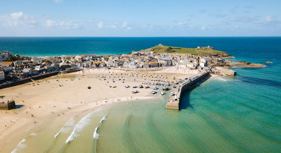 St Ives in Cornwall was named the world's fifth top emerging destination for 2021 (Getty)