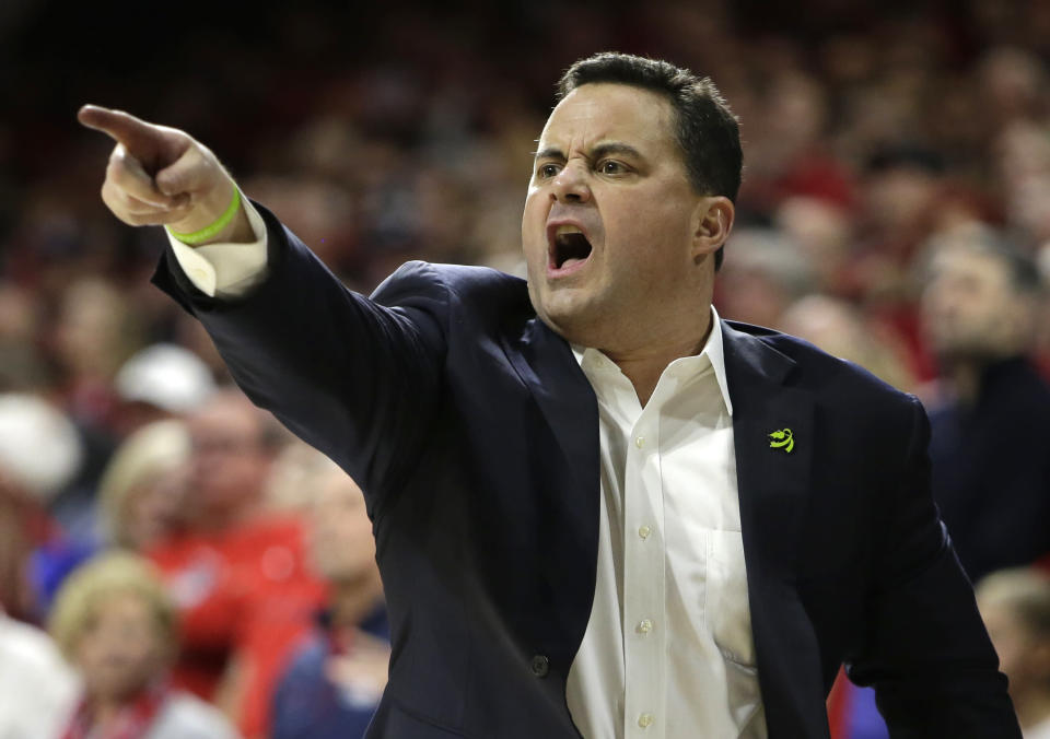 Will Arizona head coach Sean Miller finally burst through the bubble and make the Final Four? (AP)