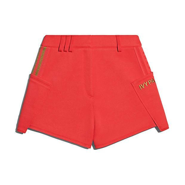 "<p>Ivy Park Suit Shorts, $64, <a href=""https://rstyle.me/+gW8GeHOtAgtT1_a2nCY3_Q"" rel=""nofollow noopener"" target=""_blank"" data-ylk=""slk:available here"" class=""link rapid-noclick-resp"">available here</a>. </p>"
