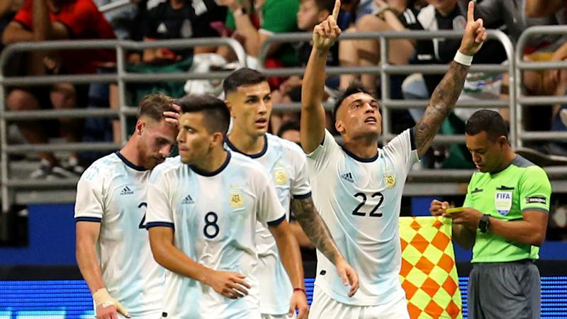 Martinez 'happy and excited' after first Argentina hat-trick