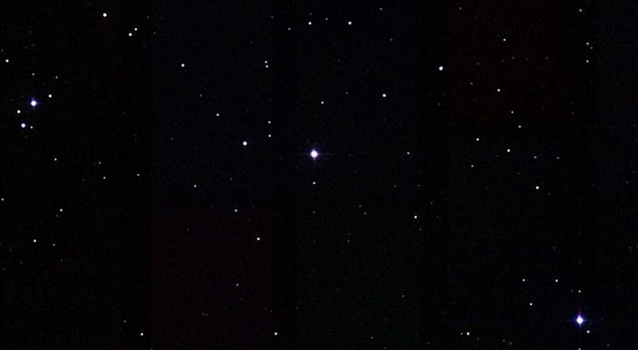 <p>Gliese 1061, the star that GJ 1061 orbits, can be found in the Horologium constellation. The exoplanet circles its star once every 12.4 Earth days. </p>