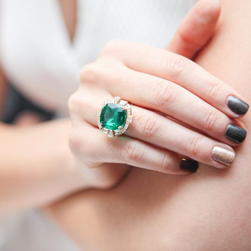 Cheaper alternatives, such as emeralds, are proving to be attractive purchases